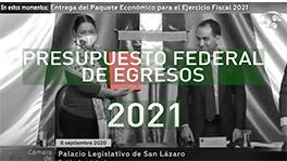 Presupuesto Federal de Egresos 2021